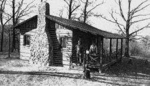 The Hurshel Johnson Cabin
